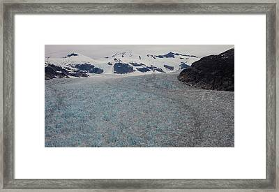 World Of Ice Framed Print by Mike Reid