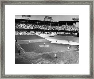 World Series, 1941 Framed Print