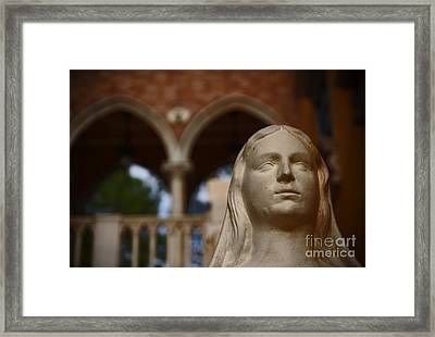 World Showcase - Italy Pavillion Framed Print