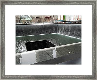 World Trade Center Memorial Framed Print by Brianna Thompson