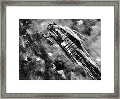 World War I, Air Battle Between An Framed Print by Everett