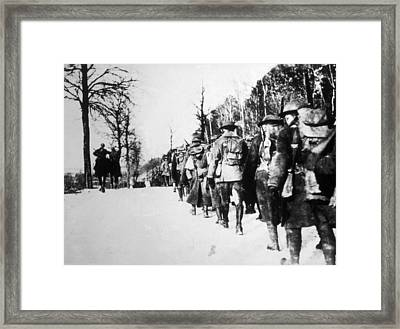 World War I, American Engineers Framed Print