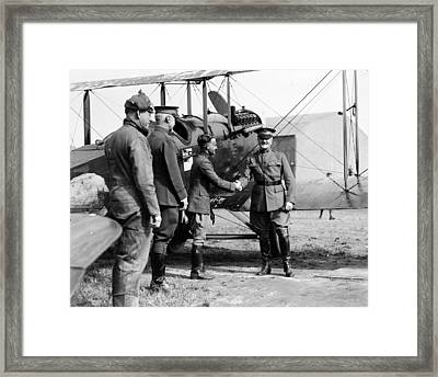 World War I, Captain Strus Second Framed Print by Everett