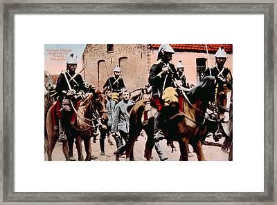 World War I, French Dragoons Framed Print