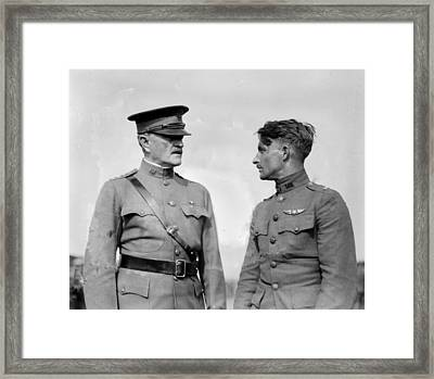 World War I, General John J. Pershing Framed Print by Everett