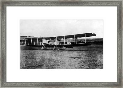 World War I, German Gotha Bomber, Ca Framed Print by Everett