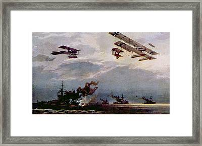 World War I, German Warplanes Framed Print