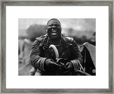 World War I, Soldier Framed Print