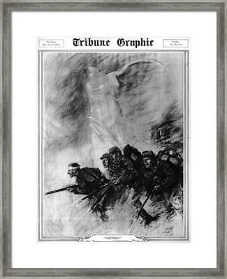 World War I, The Tribune Graphic Framed Print by Everett