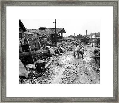 World War Ii Atomic Bombing Aftermath Photograph By Everett