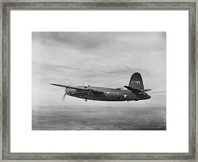 World War II, B-26 Martin Marauder Framed Print by Everett