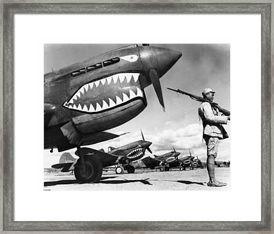 World War II: China, 1943 Framed Print by Granger