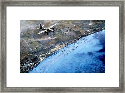 World War II, The Battle Of Normandy Framed Print