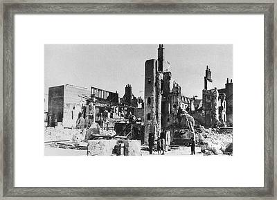 World War II: Tours, 1940 Framed Print by Granger