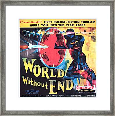 World Without End, Poster Art, 1956 Framed Print