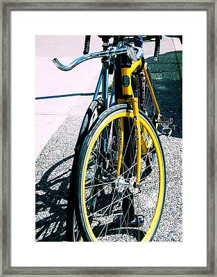 Worldly Cycle Framed Print by JAMART Photography