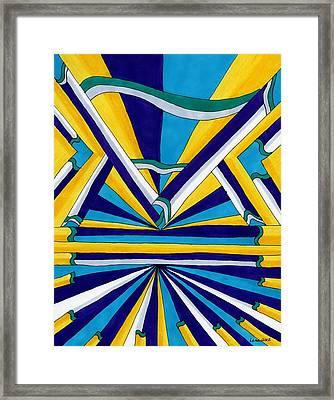 World's Fair Framed Print by Lesa Weller