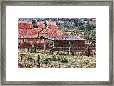 Framed Print featuring the photograph Worn Out by Joan Bertucci