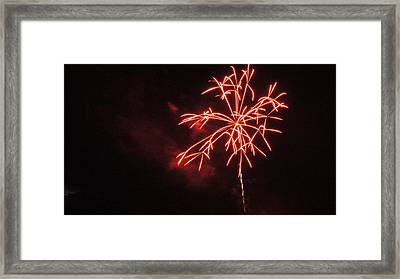 WOW Framed Print by Tristan Bosworth