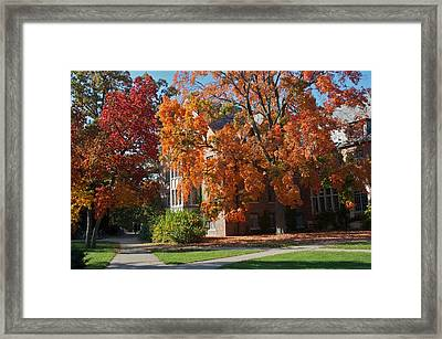 Framed Print featuring the photograph WPA by Joseph Yarbrough