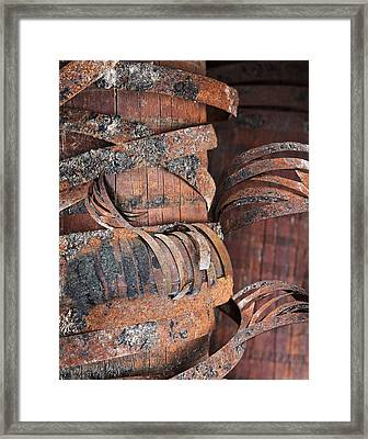 Wrapped Framed Print