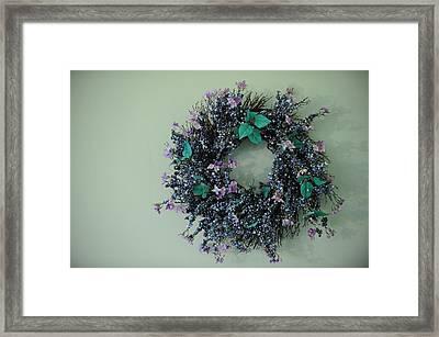 Wreath Framed Print by Brandon McNabb