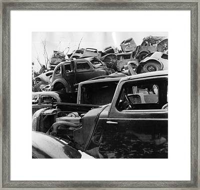 Wrecks Framed Print by John Drysdale
