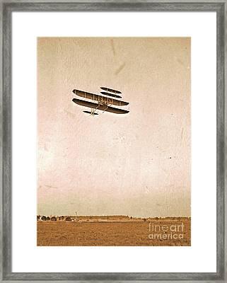 Wright Flying School Framed Print by Padre Art