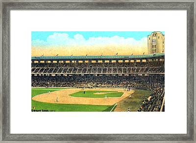 Wrigley Field In Los Angeles Ca In 1937 Framed Print by Dwight Goss