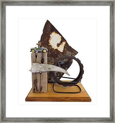 Wrong Directions Framed Print by Snake Jagger