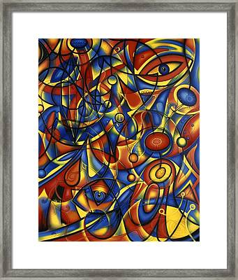 Wrought Iron Anima Framed Print