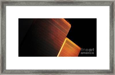 Wtc Sunset 4 Framed Print by Boris Est