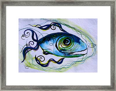Wtfish 009 Framed Print by J Vincent Scarpace