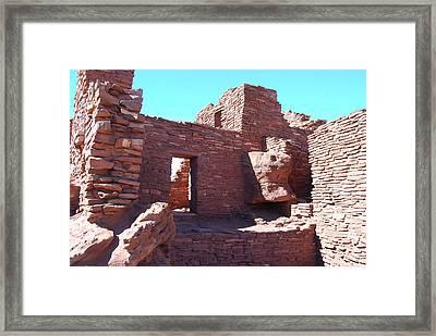 Wupatki Ruins Framed Print