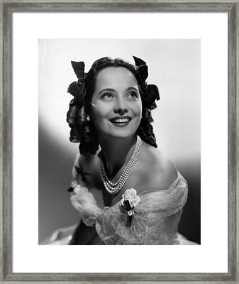 Wuthering Heights, Merle Oberon, 1939 Framed Print by Everett