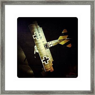 Ww1 Curtiss Jn-4d Jenny Framed Print