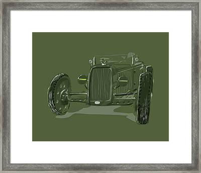 Ww2 Rod Framed Print