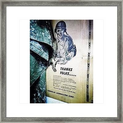 Ww2 Support Framed Print