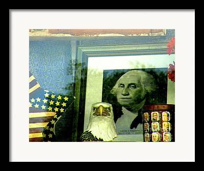2012 Presidential Election Framed Prints