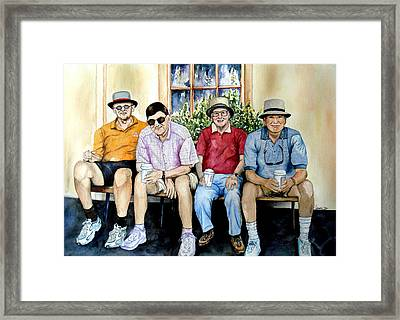 Wwii Heroes Framed Print by Candy Yu