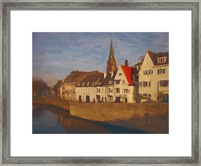 Wyck In Winter Sunlight Framed Print