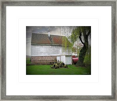 Wye Mill Framed Print by Brian Wallace