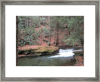 Wykoff Run Framed Print by Jeffrey Koss