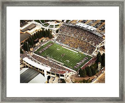 Wyoming War Memorial Stadium Framed Print by University of Wyoming