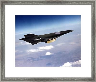 X-43a Aircraft Framed Print
