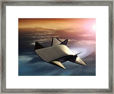 X-43b Aircraft Framed Print by Nasa