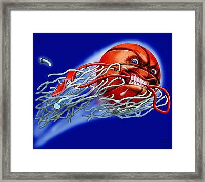 X-ball Framed Print