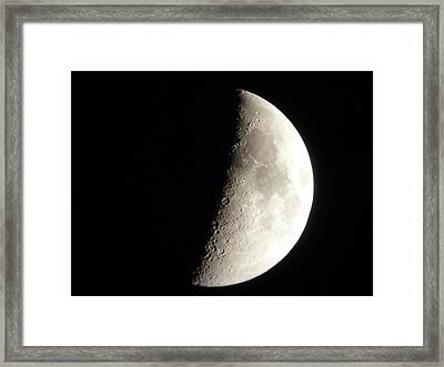 X Marks The Spot Framed Print by George Leask