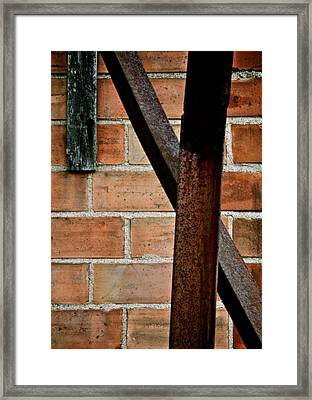 X Framed Print by Odd Jeppesen