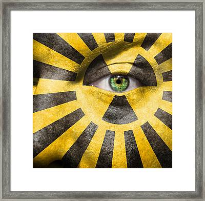 X-ray Vision Framed Print